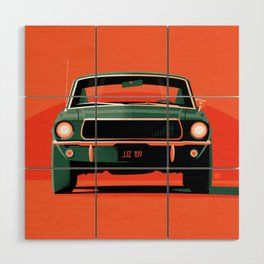 Bullitt Wood Wall Art