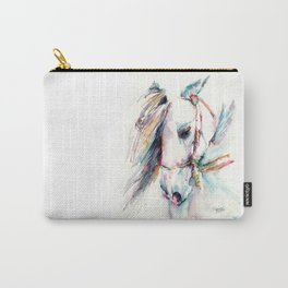 Fantasy white horse Carry-All Pouch