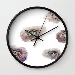 Eye Studies Wall Clock