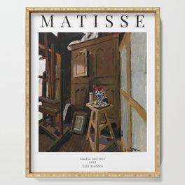 Henri Matisse - Studio Interior - Exhibition Poster Serving Tray