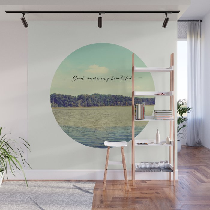 Good Morning Beautiful Nature Photograph Wall Mural By Allyjcat