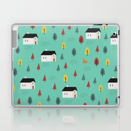 Countryside Pattern Laptop & iPad Skin