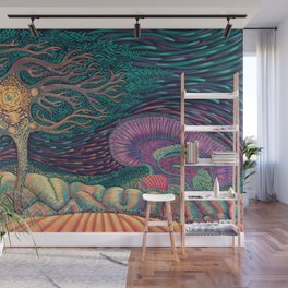 01 - Brain Forest Wall Mural