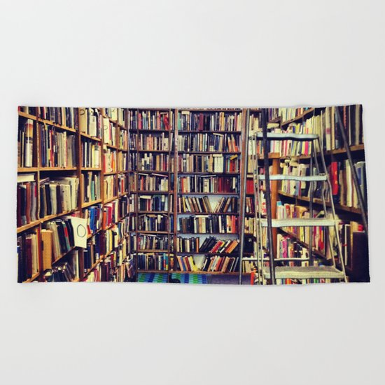 Books Beach Towel