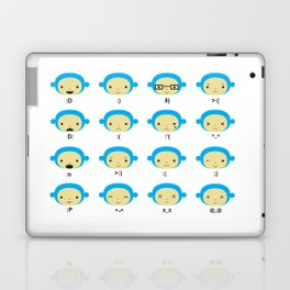 Emoticonal Monkey Laptop & iPad Skin