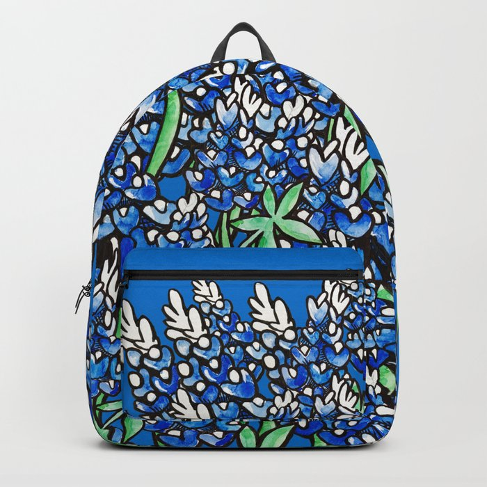 Texas Bluebonnets Backpack