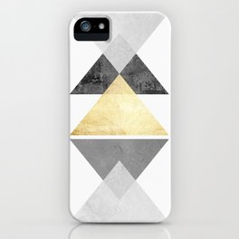 Texture Composition III iPhone Case
