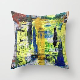 RICHTER SCALE 3 Throw Pillow