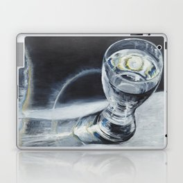 Glass of the water in the light Laptop & iPad Skin