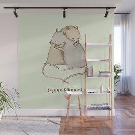 Squeakhearts Wall Mural