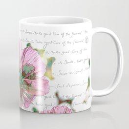The Flower of Life - Free Hand Calligraphy! Coffee Mug