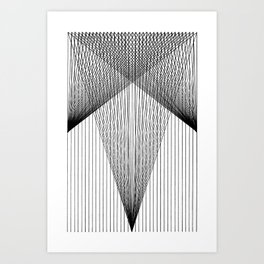 THE WIDENING Art Print