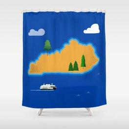 Kentucky Island Shower Curtain