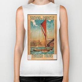 Vintage poster - Southend Biker Tank