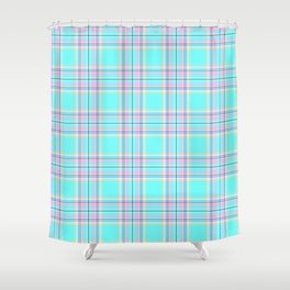 Royal Floridian Tartan Check Plaid Shower Curtain