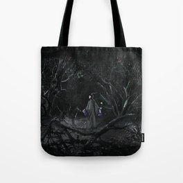 The Wolf and the Fairy by The Labs & Co. Tote Bag