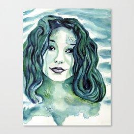 Maybe I'm A Mermaid (Tori Amos inspired art) Canvas Print