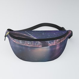 Spacey Manhattan Skyline Fanny Pack