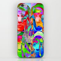 picasso iPhone & iPod Skins featuring Pop Picasso by Ganech joe