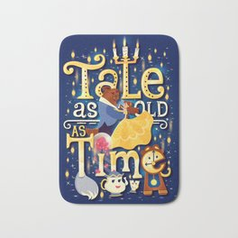 Tale as old as time Bath Mat