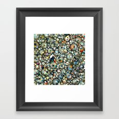 Colorful 3D Abstract Framed Art Print