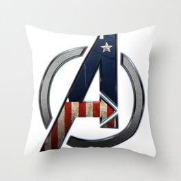 UNREAL PARTY 2012 THE AVENGERS  CAPTAIN AMERICA  Throw Pillow
