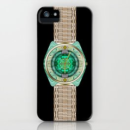 Glass Watch iPhone Case