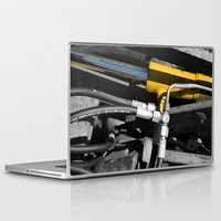 muscle Laptop & iPad Skins featuring Hydraulic Muscle by Digitalshot