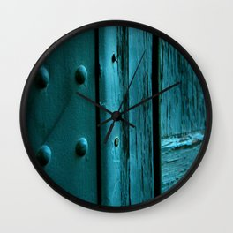 Fragments of Time: Iron Horse Series No. 007 Wall Clock