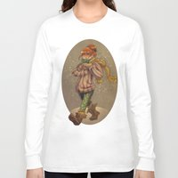 chocolate Long Sleeve T-shirts featuring Chocolate by DavinciDiva