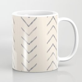 Navy arrow chase Coffee Mug