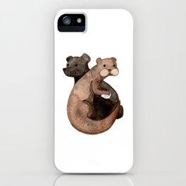 Otter Bear iPhone Case
