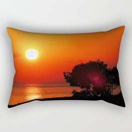 Dawn in the South first Rectangular Pillow