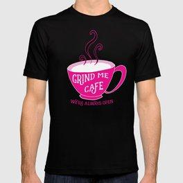 Grind Me Cafe T-shirt