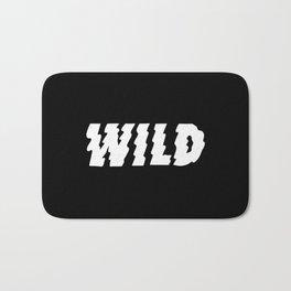 Wild – Black and White Bath Mat