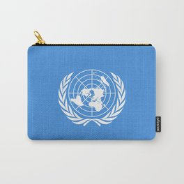 The United Nations Flag - UN Flag Carry-All Pouch