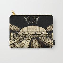 Hamburg Railwaystation monochrom Carry-All Pouch