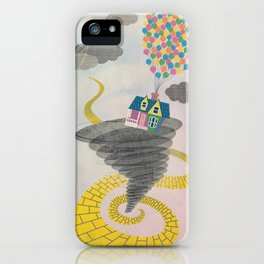 The Wizard of Up iPhone Case