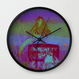 Collaborative Calliope Wall Clock