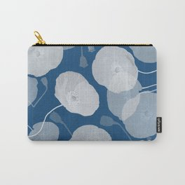 Monochromatic Poppies Carry-All Pouch