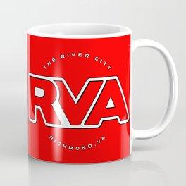"Rva Logo - Red | "" The River City "" Coffee Mug"