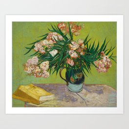 Oleanders by Vincent Van Gogh Art Print