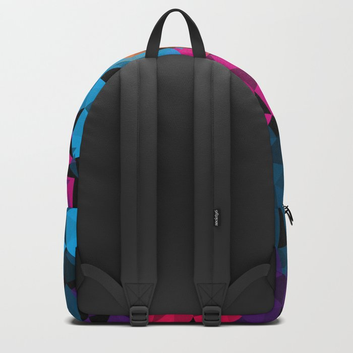 Colorful geometric Shapes Backpack