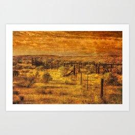 Summer Range Art Print