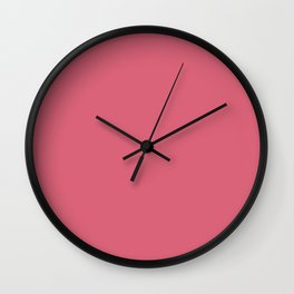 Color Trends 2017 Classic Nantucket Red Wall Clock