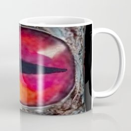 Eye of The Dragon Jewel in Black Coffee Mug
