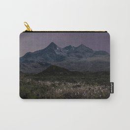 Mountains of Scotland at evening Carry-All Pouch