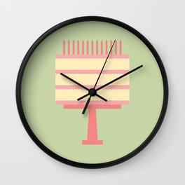 Cake Day Wall Clock