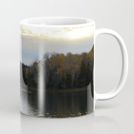 Downeast Autumn Reflections of Scattered Illuminations Coffee Mug