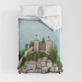 Lisboa landscape Duvet Cover